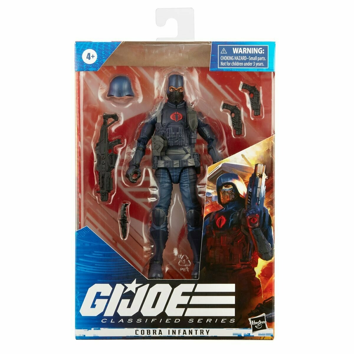 G.I. Joe Classified Series 6-Inch Cobra Infantry Action Figure  ~Preorder Coming Feb 2021