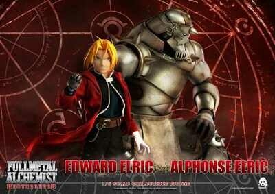 Full Metal Alchemist BROTHERHOOD EDWARD & ALPHONSE 1/6 SCALE FIG TWIN PACK