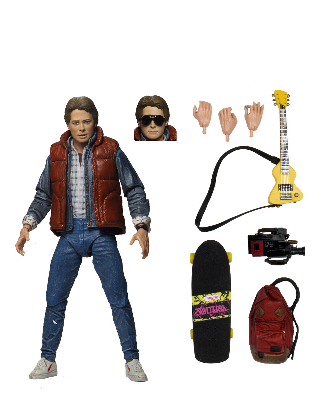 """7"""" Scale Action Figure – Ultimate Marty McFly"""