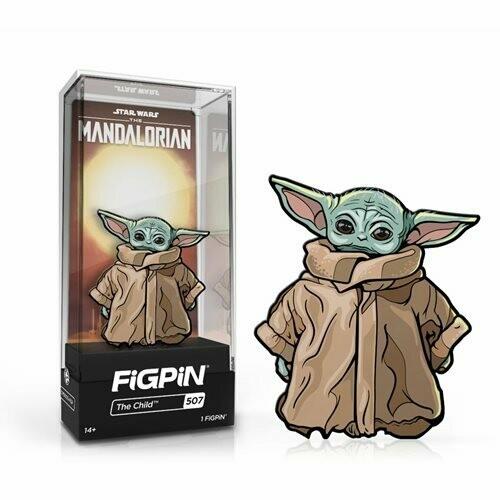 Star Wars: The Mandalorian The Child FiGPiN 3-Inch Enamel Pin