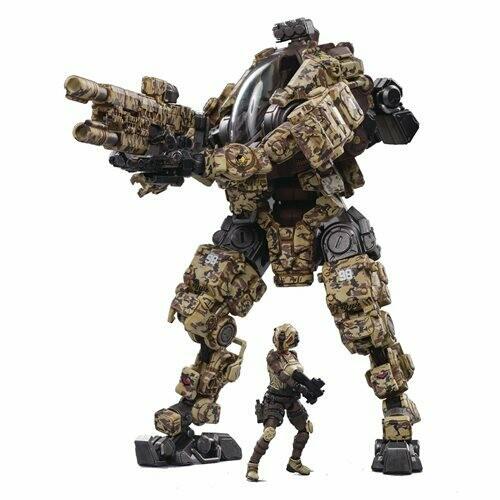 Joy Toy Steel Bone H03 Sniper Desert Camo Mecha 1/24 Scale Action Figure