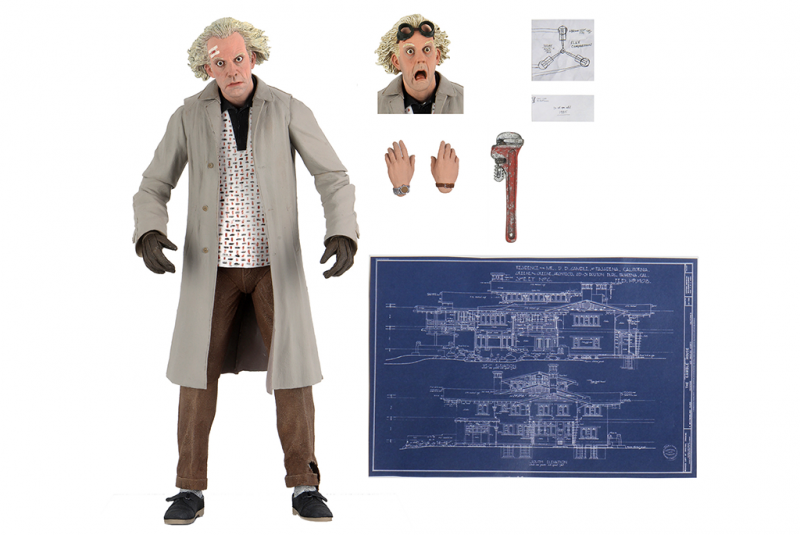 7″ Scale Action Figure – Ultimate Doc Brown