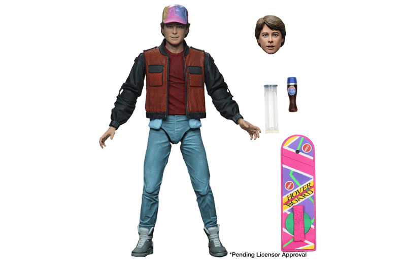 7″ Scale Action Figure – Ultimate Marty McFly