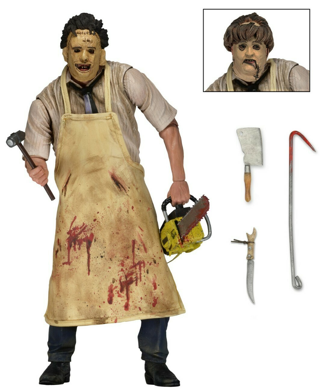 Texas Chainsaw Massacre – 7″ Scale Action Figure – Ultimate Leatherface