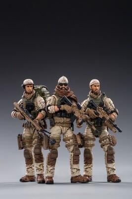 JOY TOY US ARMY DELTA FORCE 1/18 FIGURE 3PK