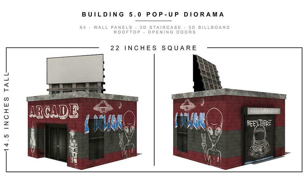BUILDING 5.0 POP-UP DIORAMA 1/12th scale