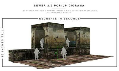 SEWER 2.0 POP-UP DIORAMA 1/12 scale