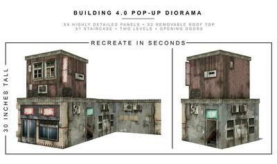 BUILDING 4.0 POP-UP DIORAMA 1/12 scale