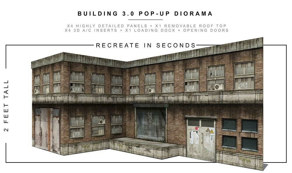 BUILDING 3.0 POP-UP DIORAMA 1/12 scale