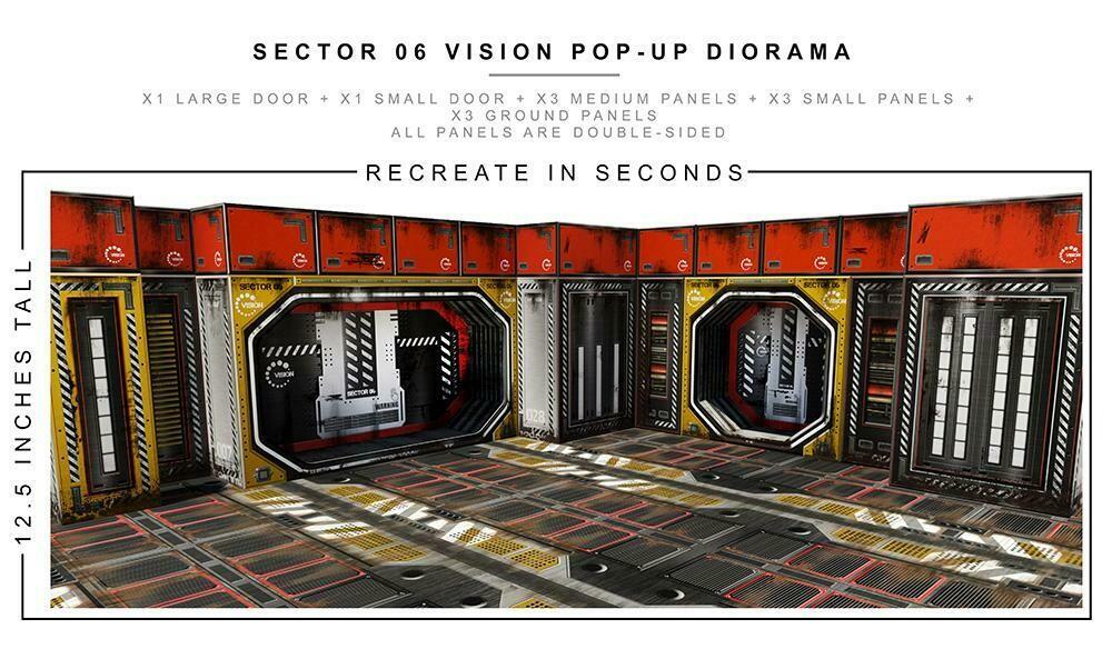 Sector 6 diorama