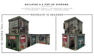 BUILDING 6.0 POP-UP DIORAMA 1/12 scale
