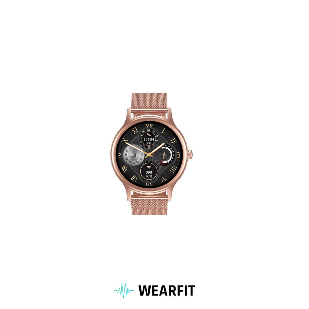 Fashion Fitness Health Smart Watch WFM2W