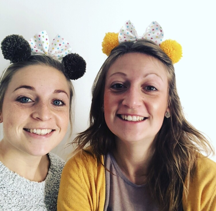 Children in Need Pom Pom Headband