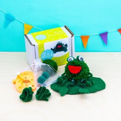 Pom Pom Frog Craft Kit