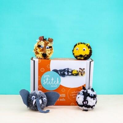 Safari Friends Craft Kit