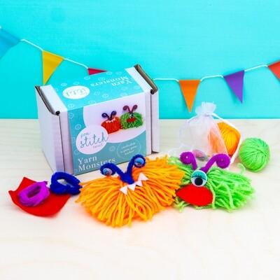 Yarn Monsters Craft Kit