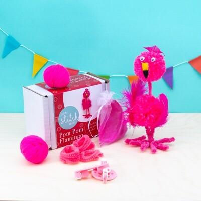 Pom Pom Flamingo Craft Kit