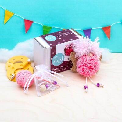 Pom Pom Christmas Fairy Kit
