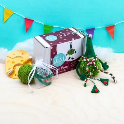 Pom Pom Elf Craft Kit
