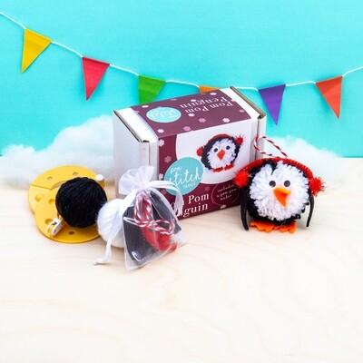 Pom Pom Penguin Craft Kit