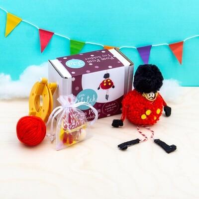 Pom Pom Toy Soldier Craft Kit