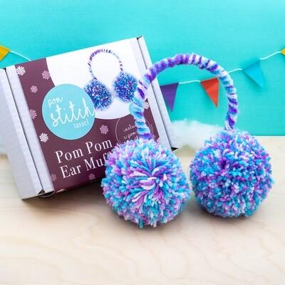 *NEW* Pom Pom Ear Muffs Kit