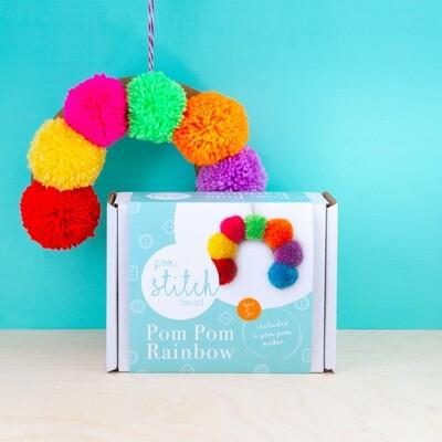 Pom Pom Rainbow Kit