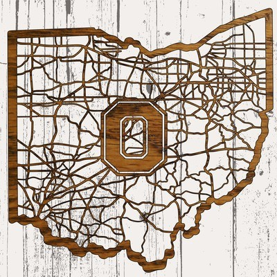 All Roads State Maps - Ohio State