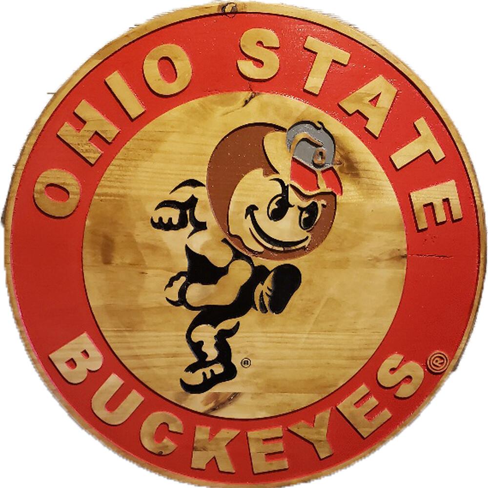 "Ohio State Brutus 18"" Barrel Head"
