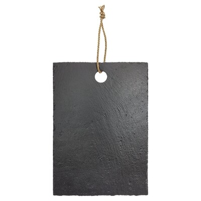 Slate Cutting Boards - Rectangle Slate Cutting Board with Hanger String