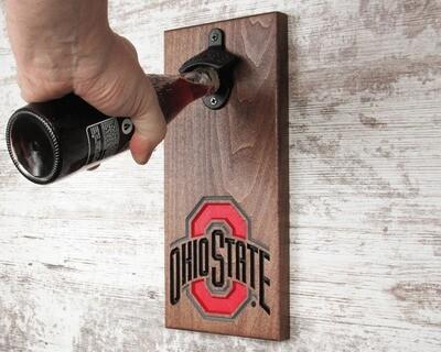 Ohio State Bottle Openers - Ohio State Athletic Logo