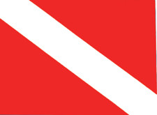 Stickers - Dive Flag