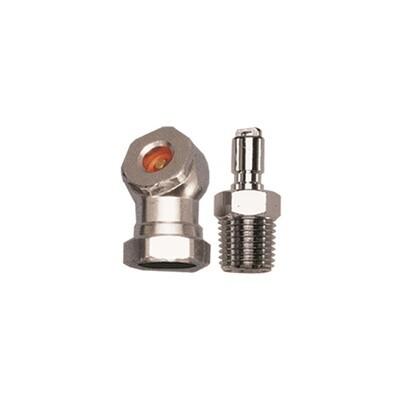 Tire inflator w/LP inflator hose adaptor