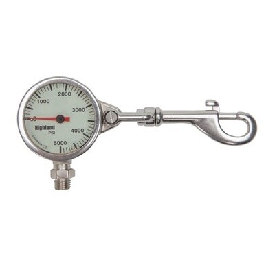 """Submersible Pressure Gauge, 2"""" with Snap"""