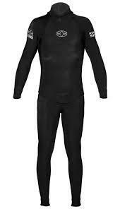 Oceaner Men's Freediving 2pc 7mm, Black/yellow, Lg