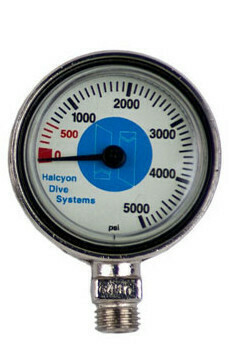 Submersible pressure gauge for Stage, 0-5000 psi