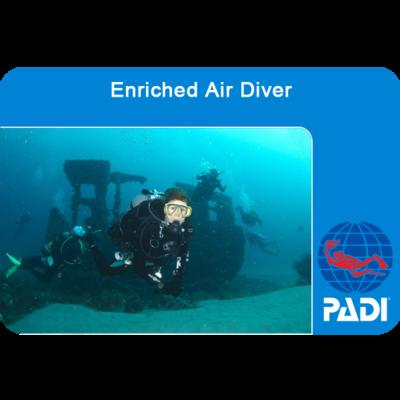 PADI Nitrox Diver - Add on