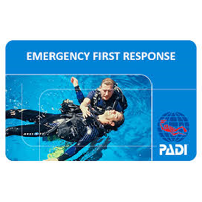 PADI EFR- Emergency First Response (CPR and First Aid): Add-on