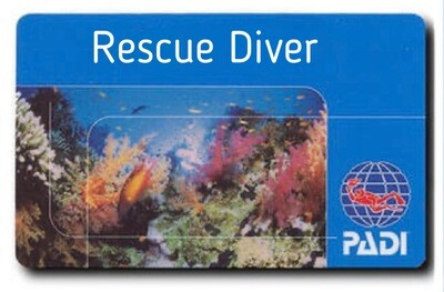 PADI Rescue Diver with EFR
