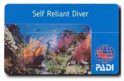 PADI Self Relient Diver