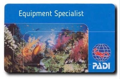 PADI Equipment Specialist