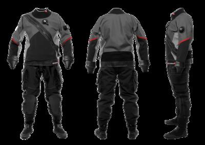 E. Motion Plus Men's Dry Suit by Santi