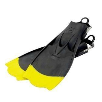 Hollis F1 Scuba Fin Yellow Tip