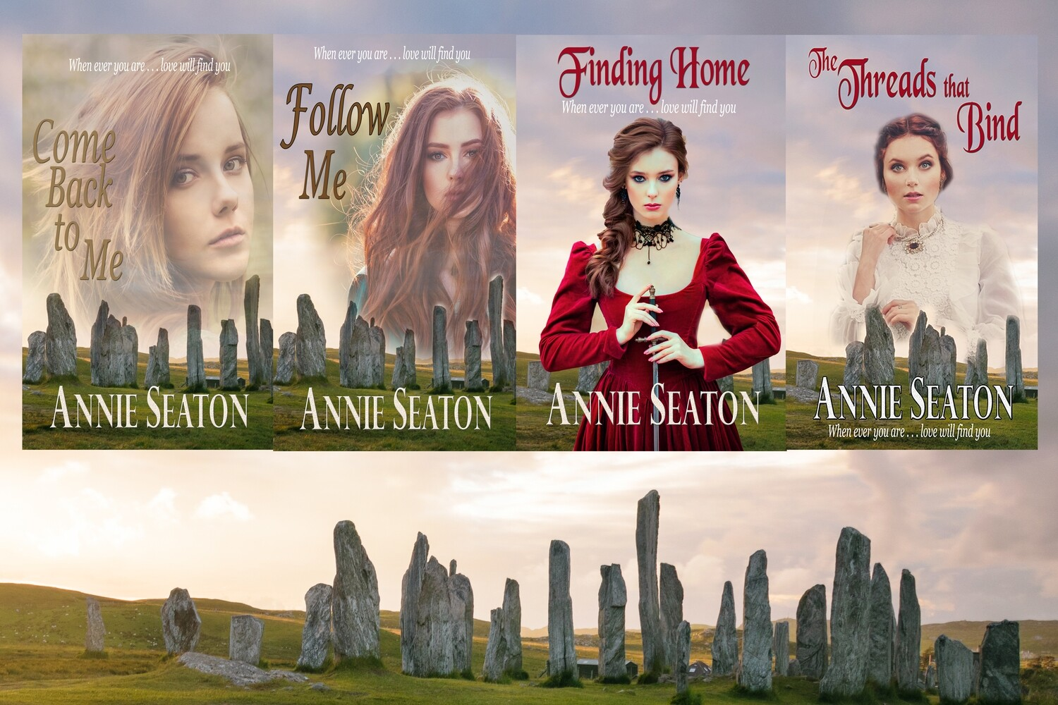 Love Across Time SPECIAL OFFER -THREE BOOK DEAL