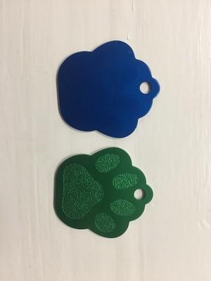 Médaille patte de chien