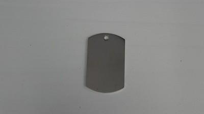 Médaille rectangulaire