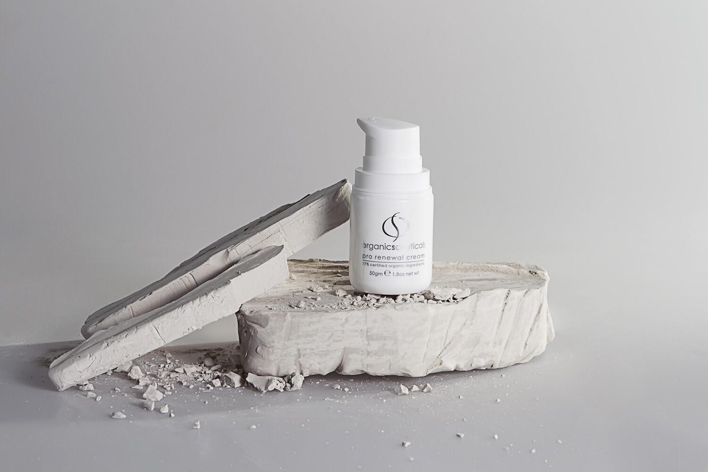 Organicspa pro renewal cream 77% Certified Organic/100% Naturally Derived size 50gm