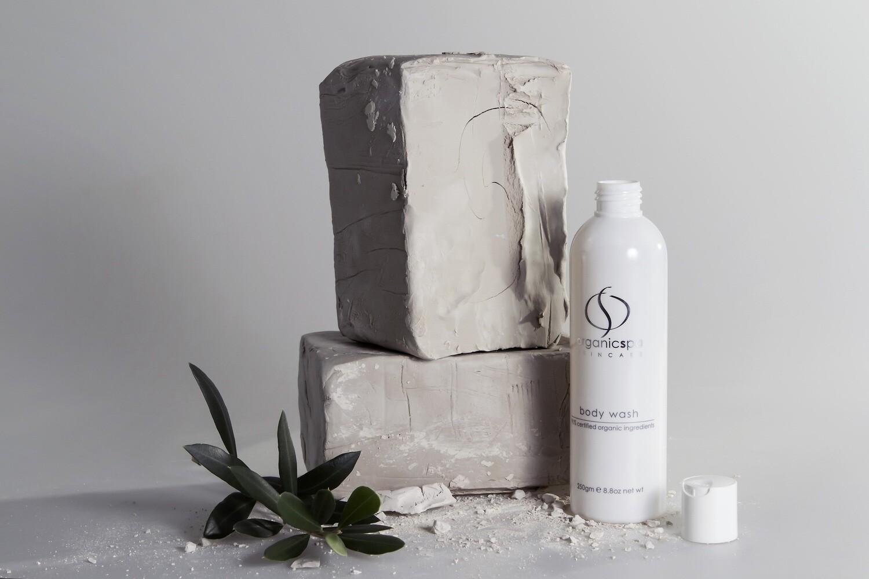 Organicspa body wash 91% Certified Organic/100% Naturally Derived size 250gm