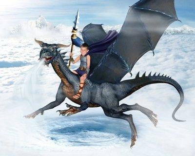 Dragon Knight - Wind - Landscape