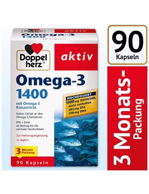 Dầu Cá Omega-3 1400 Gói Tiết Kiệm